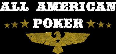 All American Poker logo