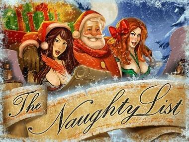 The Naughty List logo